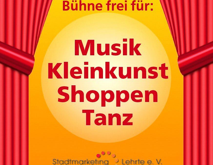 """""""Offene Bühne"""" – Zweiter verkaufsoffener Sonntag am 29. Mai 2016"""