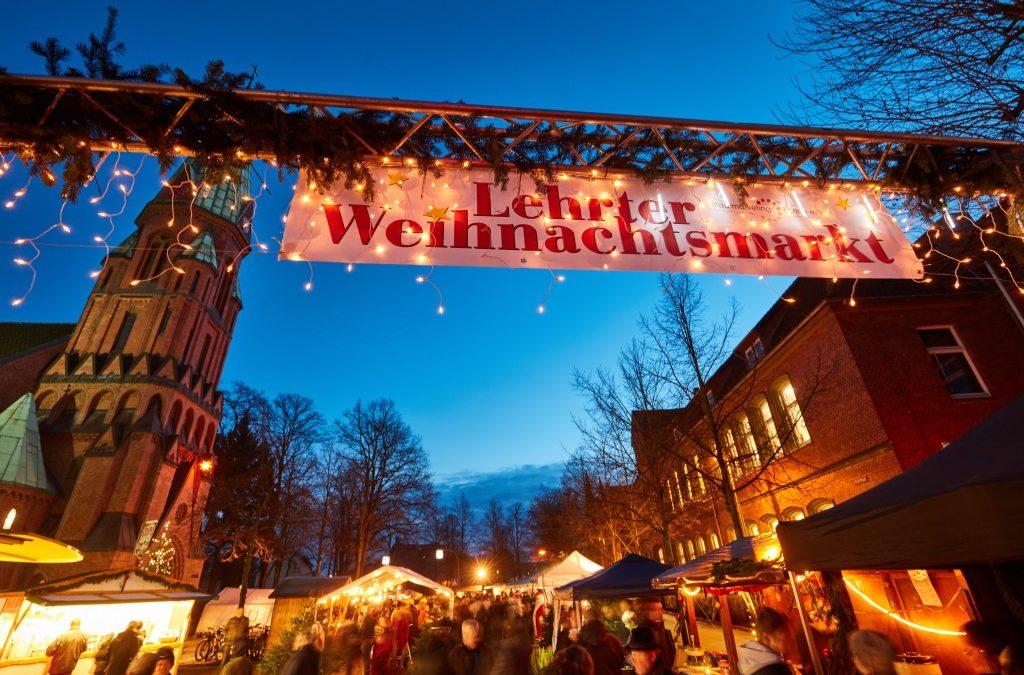 Lehrter Weihnachtsmarkt an der Matthäuskirche vom 14. – 16.12.2018