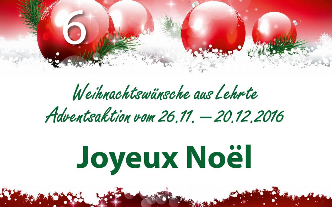 Adventsaktion: Weihnachtswünsche aus Lehrte!
