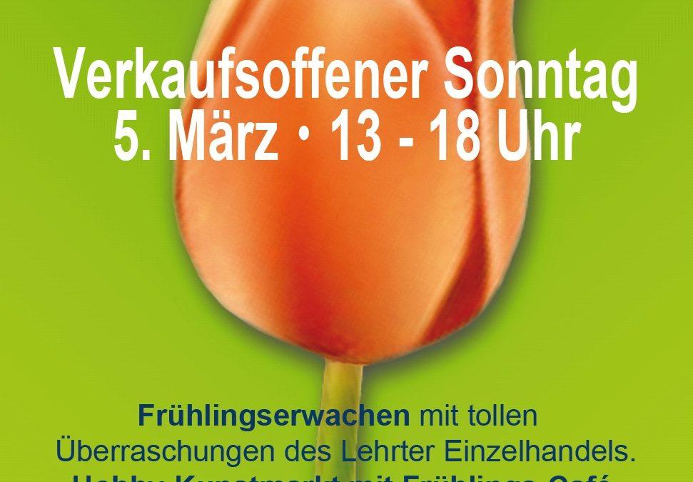 """""""Frühlingserwachen"""" – Erster verkaufsoffener Sonntag 2017 in Lehrte"""