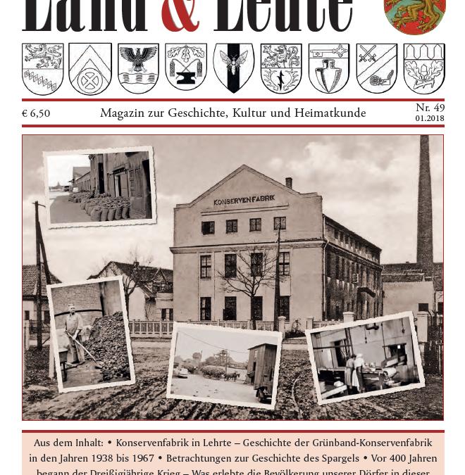 Die 49. Ausgabe des Magazins Lehrter Land & Leute ab 27. März im Handel!
