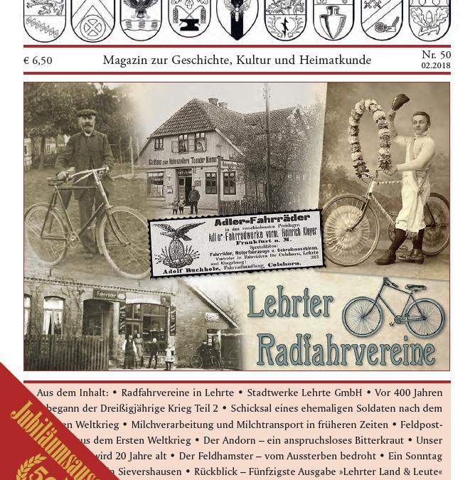 Jubiläumsmagazin von 'Lehrter Land & Leute' ab 30. Oktober im Handel!