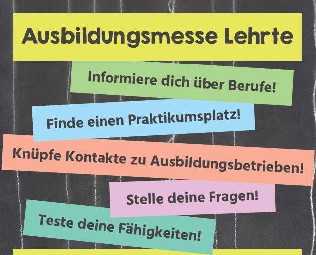 2. Ausbildungsmesse in Lehrte am 7. März