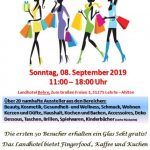 """Lifestyle Hausmesse """"be different"""""""