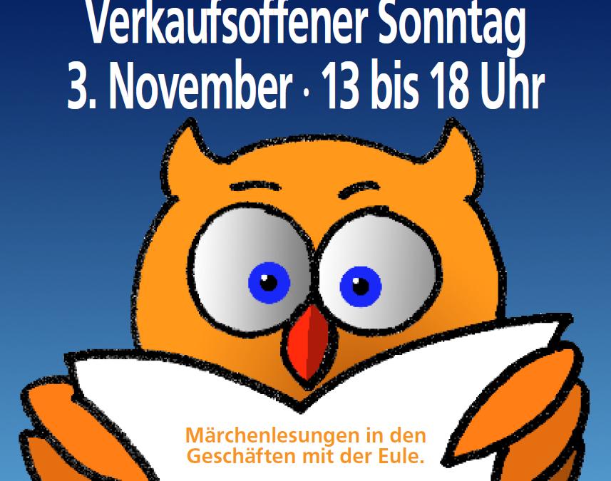 Letzter verkaufsoffener Sonntag am 3. November von 13.00 – 18.00 Uhr in Lehrte