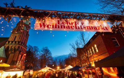 Lehrter Weihnachtsmarkt an der Matthäuskirche vom 13. – 15.12.2019