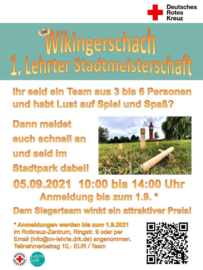 Wikingerschach - 1. Lehrter Stadtmeisterschaft